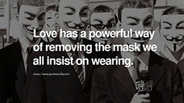 20 Quotes on Wearing a Mask, Lying and Hiding Oneself