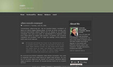 emire blogger template blogspot