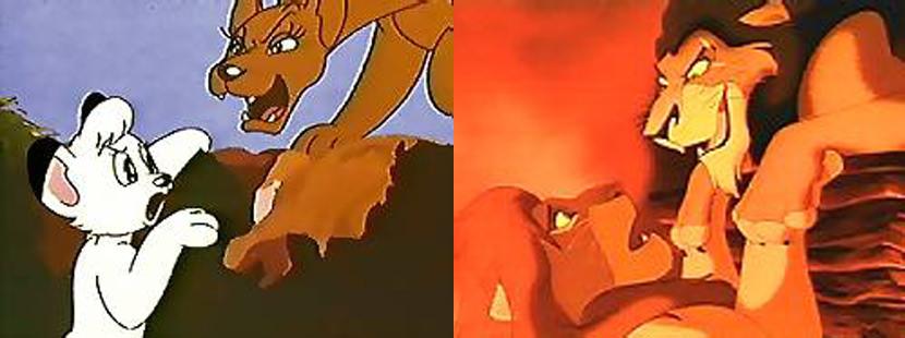 Disney Plagarise The Lion King Storyline