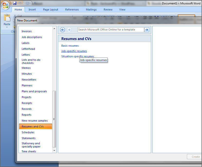 resume layout. job resume write sample