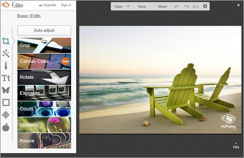 pic monkey photoshop alternative editor Free Online Photo Editor Alternative on iPad Tablet For Adobe Photoshop CS User