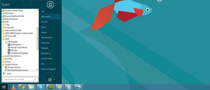 7 Freeware to Bring Back Classic Start Menu Button for Microsoft Windows 8 and 8.1