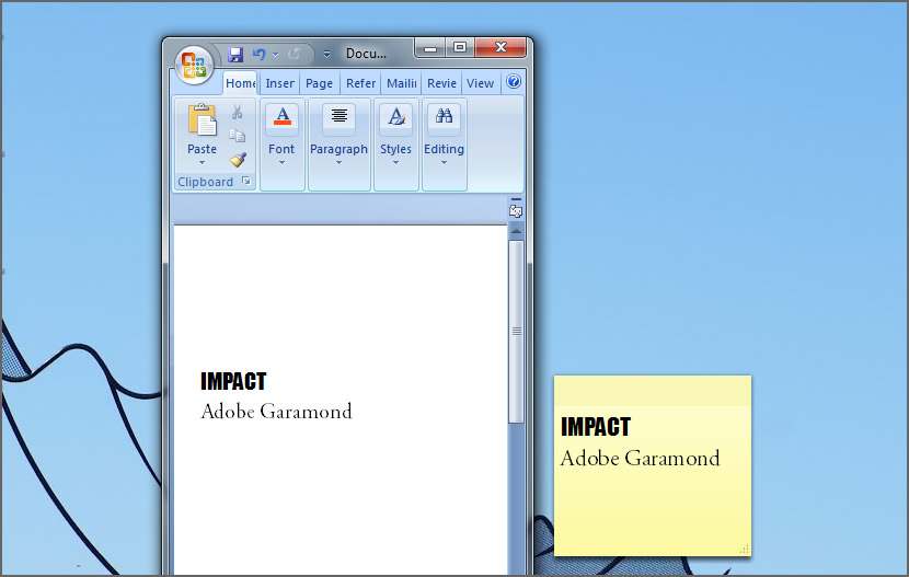Download Sticky Notes Windows Xp