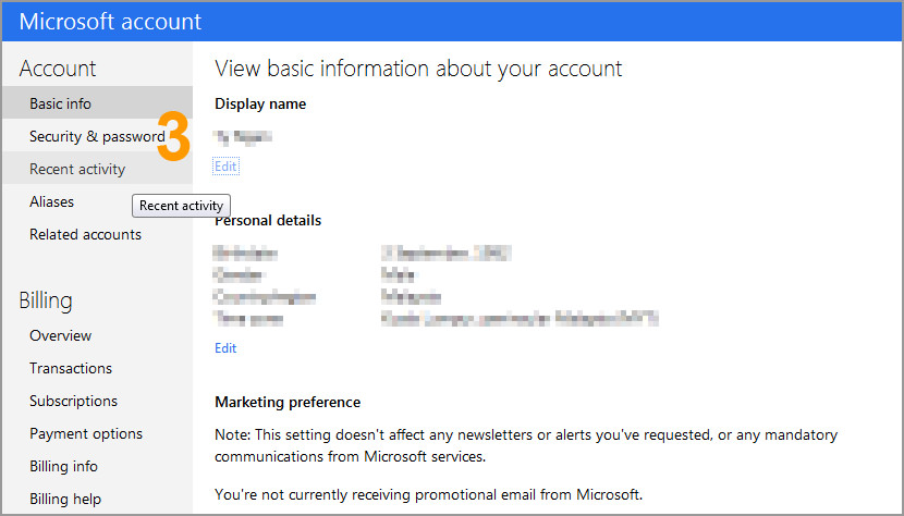 how to change your email address on msn hotmail