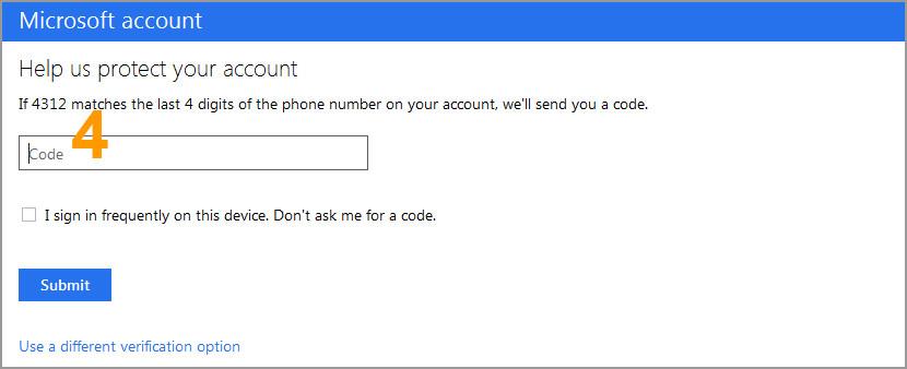 hotmail com password: