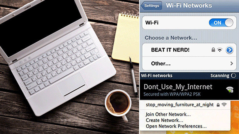 network ssid for wifi how to find