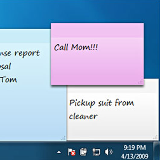 windows 7 desktop sticky notes download