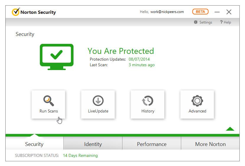 norton antivirus 2013 60 day free trial