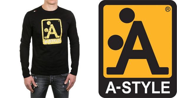 a style logo shirt