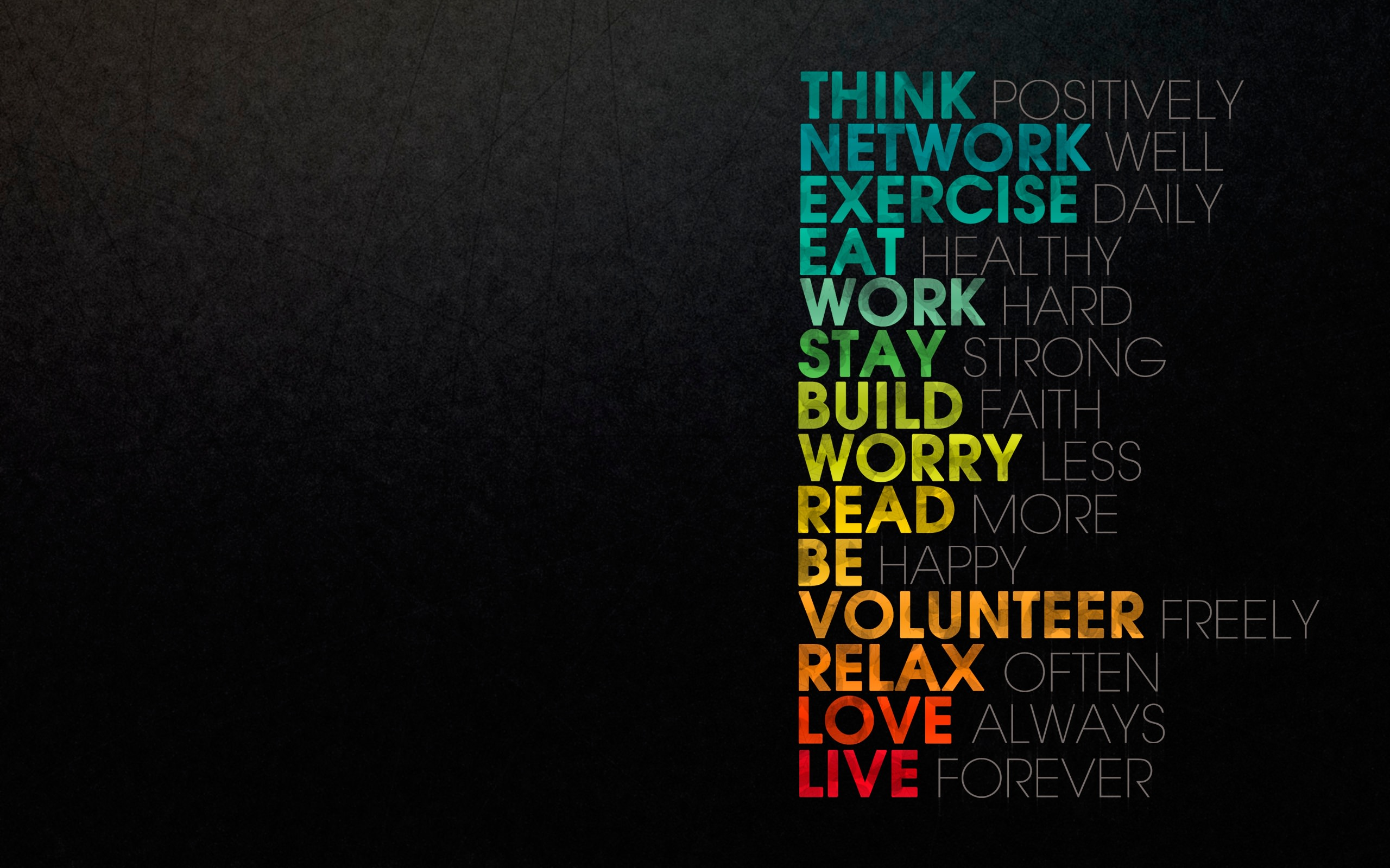 35 inspirational typography hd wallpapers for desktop, iphone and