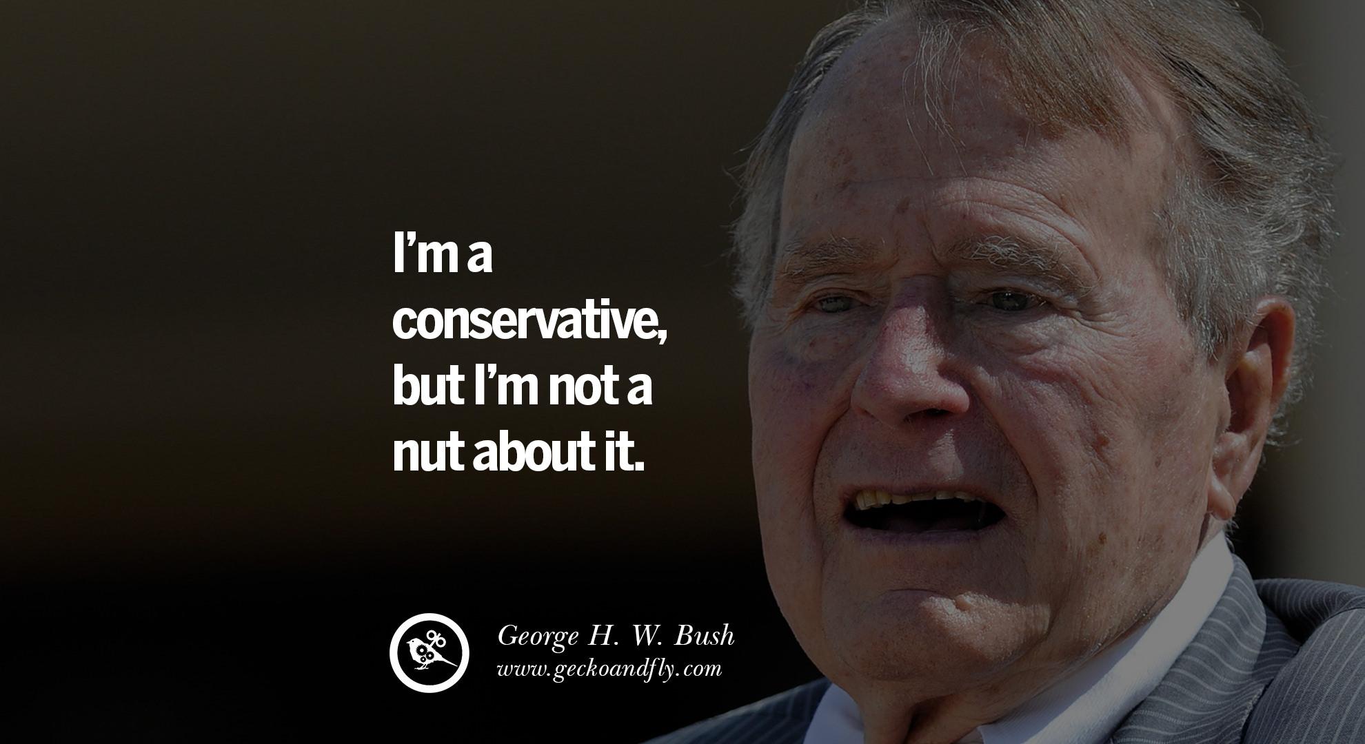 Famous George HW Bush Quotes on Freemason Illuminati and