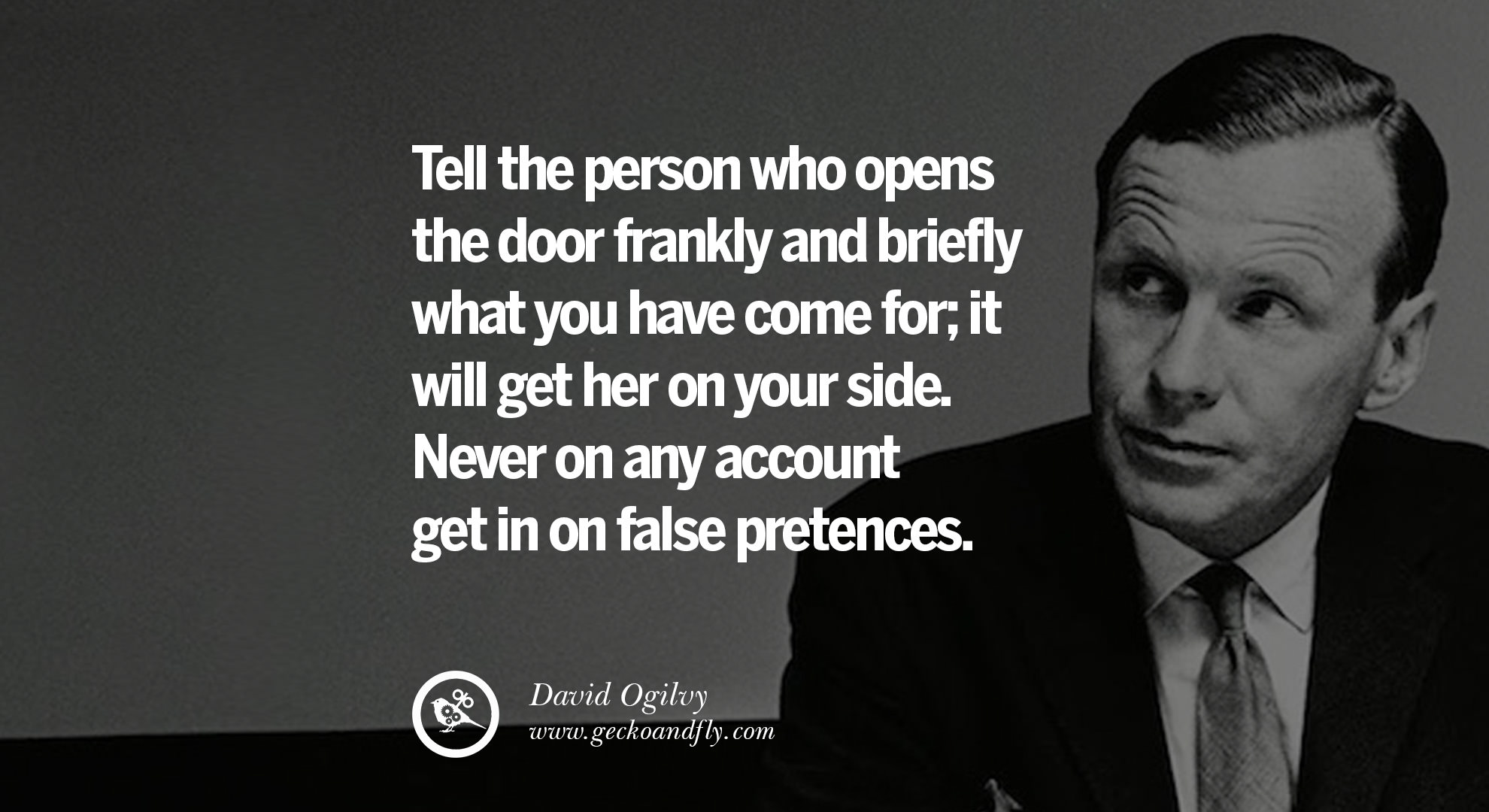 10 Tips From David Ogilvy On How To Be A Great Salesperson