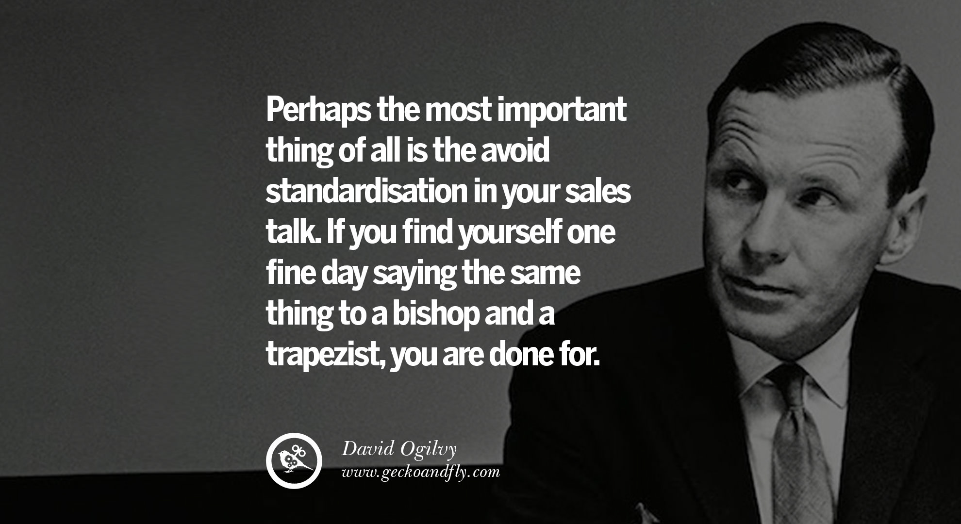 David Ogilvy Quotes 10 Tips From David Ogilvy On How To Be A Great Salesperson