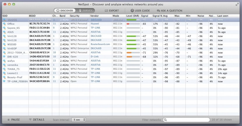 netspot discover mode 8 Tools To Optimize Wi-Fi Channel For A Lag Free Internet Experience
