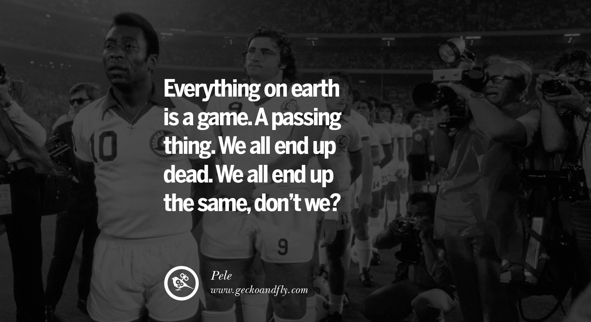 Dead Spider Etsy Pele Football Quote Advice World Cup