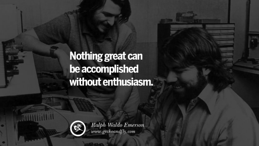 Inspirational Motivational Poster Amway or Herbalife Nothing GREAT can be accomplished without ENTHUSIASM. - Ralph Waldo Emerson best inspirational quotes tumblr quotes instagram