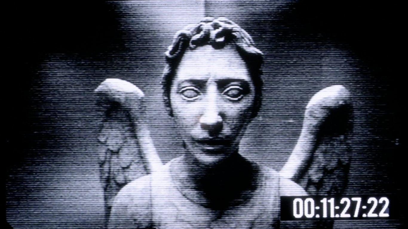 Prank - Weeping Angel Desktop Wallpaper