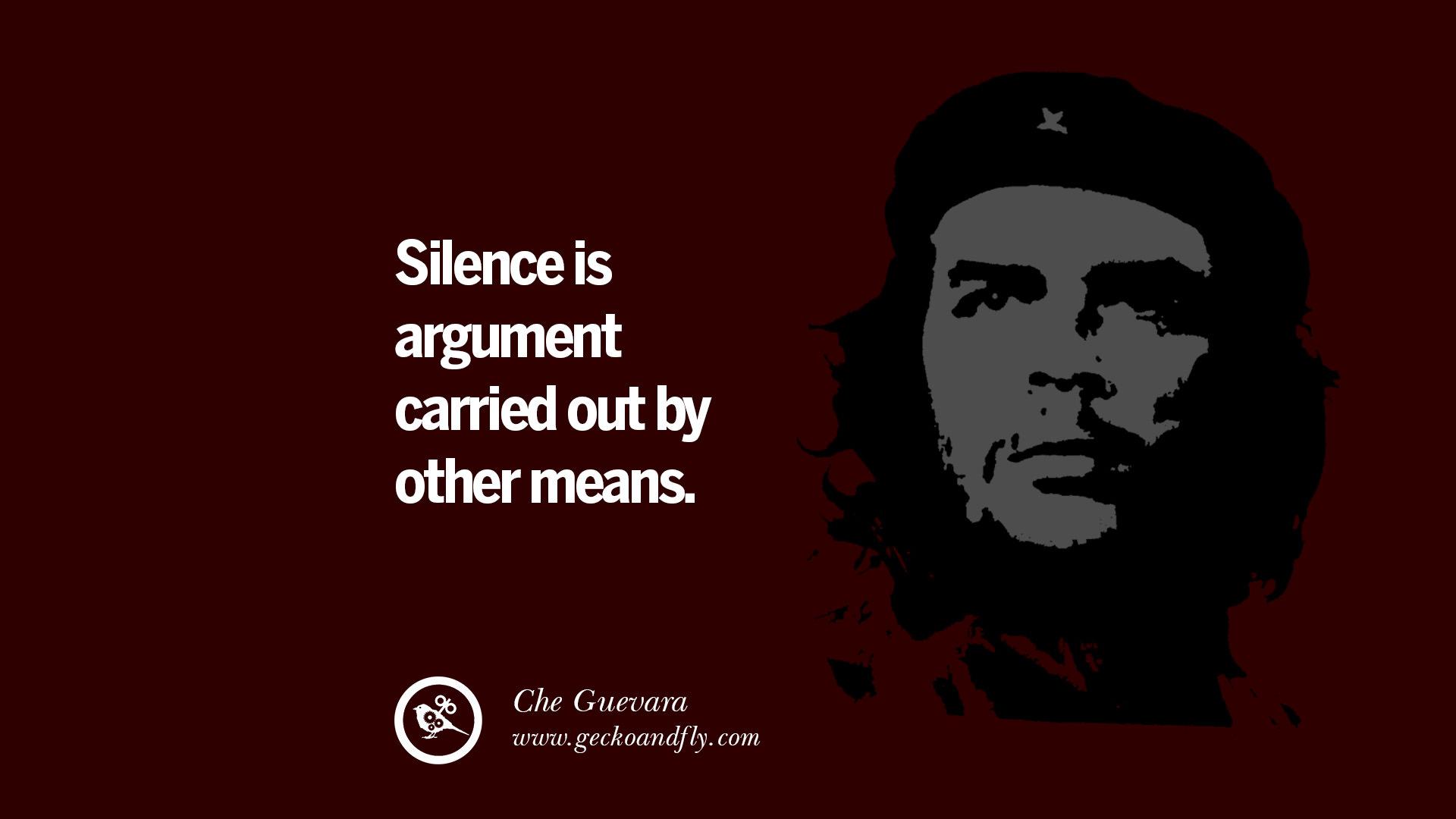 K Che Inspiration 15 quotes by fidel castro and ernesto che guevara