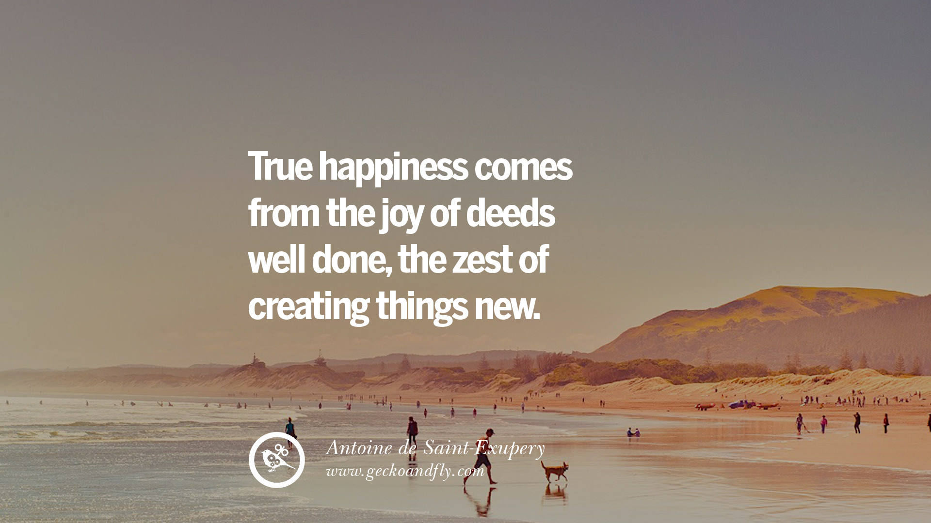 pursuing happiness Happiness comes when you live the way that happy people live.