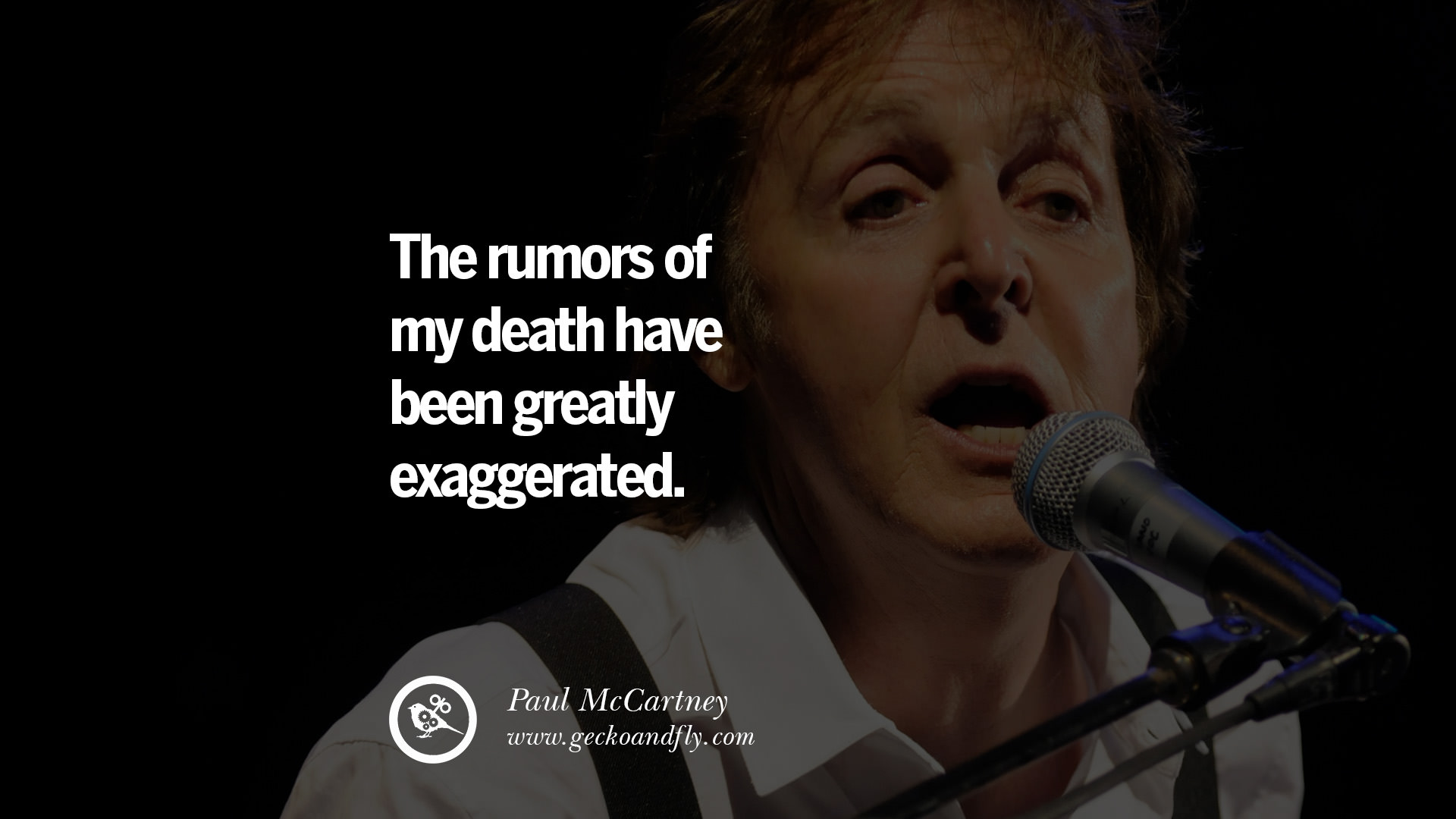 Audio Quotes About Life 10 Quotepaul Mccartney On Vegetarianism Life And Love
