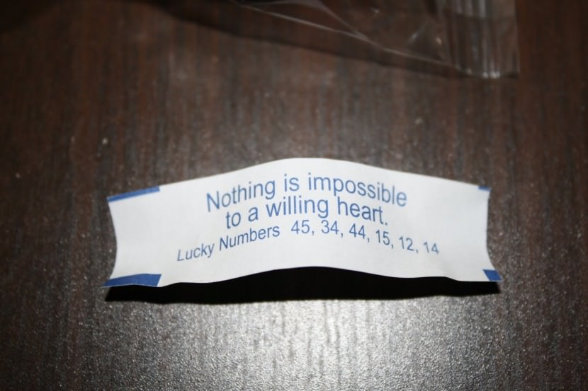 Nothing is impossible to a willing heart. Best Inspirational Chinese Japanese Fortune Cookie Quotes and Sayings On Life For Facebook And Tumblr