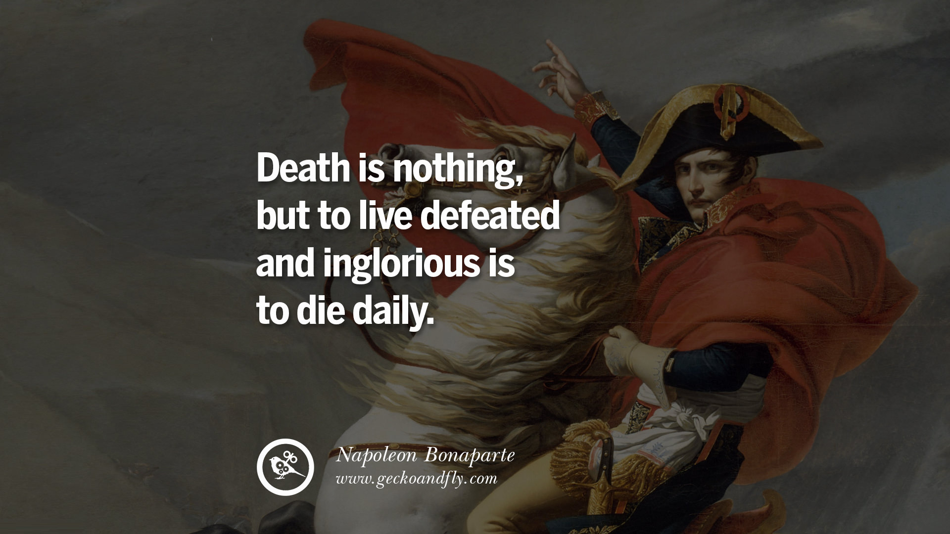 napoleon bonapart quotes Here you may find the best collection of napoleon bonaparte quotes i have only one counsel for you – be master there are only two forces in the world, the sword.