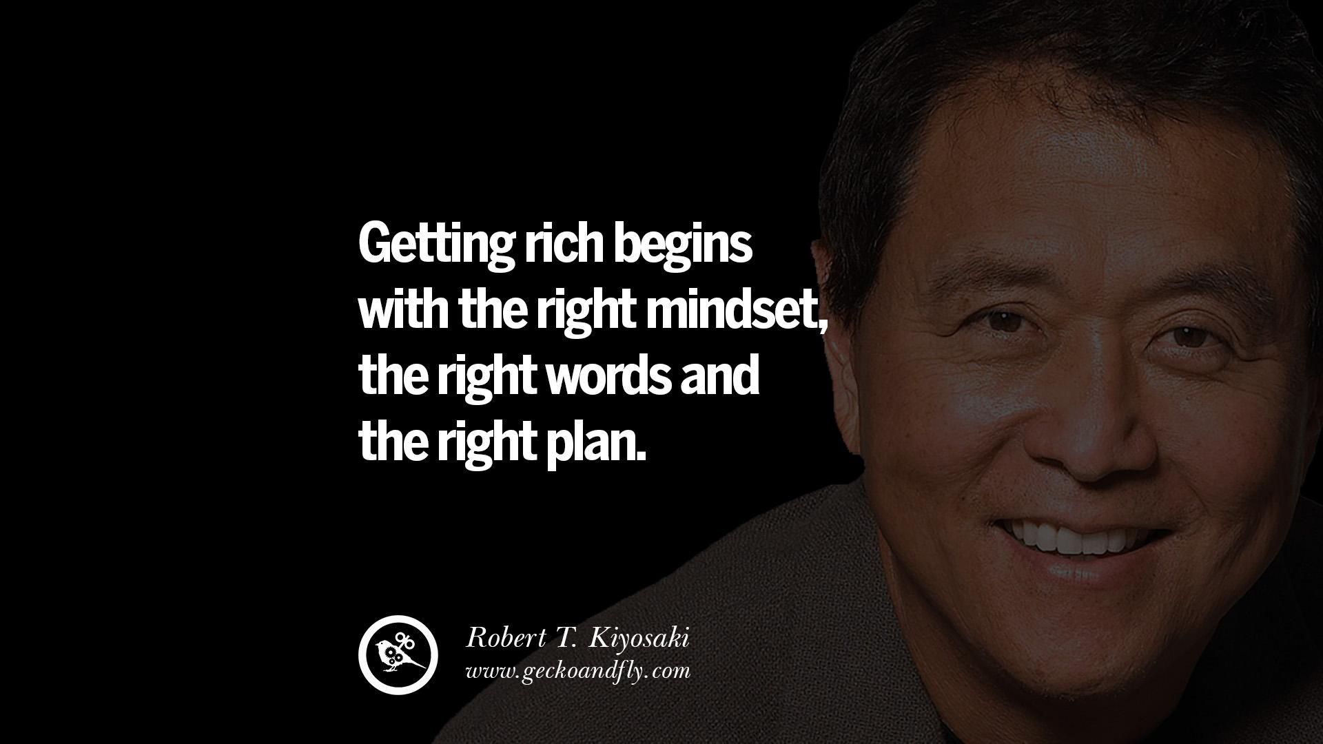 Quotes Robert Kiyosaki Money Work. QuotesGram