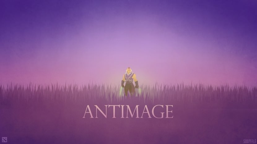 Anti-Mage download dota 2 heroes minimalist silhouette HD wallpaper