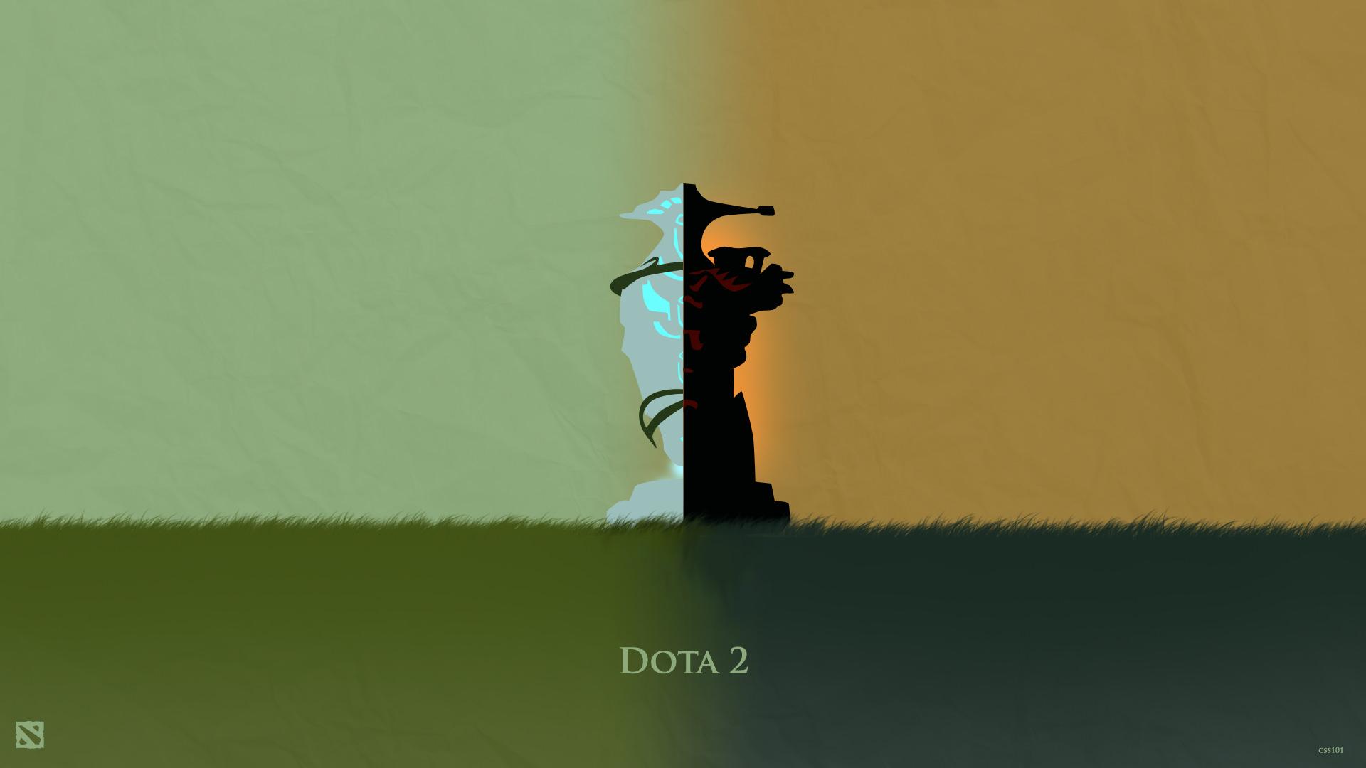 50 Beautiful Dota 2 Posters Heroes Silhouette Hd Wallpapers