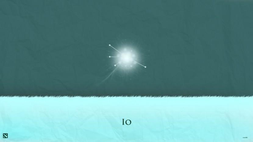 IO download dota 2 heroes minimalist silhouette HD wallpaper