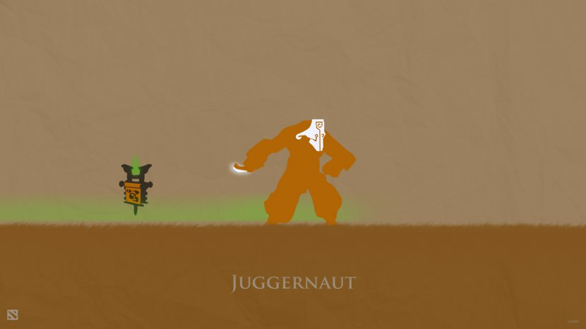 Juggernaut download dota 2 heroes minimalist silhouette HD wallpaper