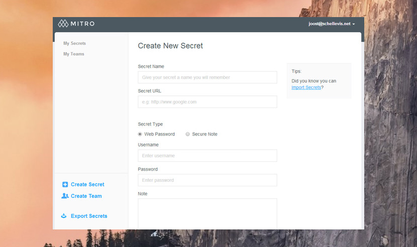 mitro Free And The Best Password Manager For Windows, Mac, Android And iPhone