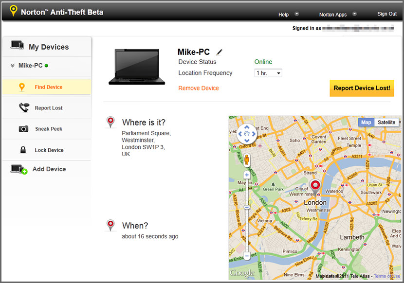 7 Laptop Theft Recovering Software With Gps Location
