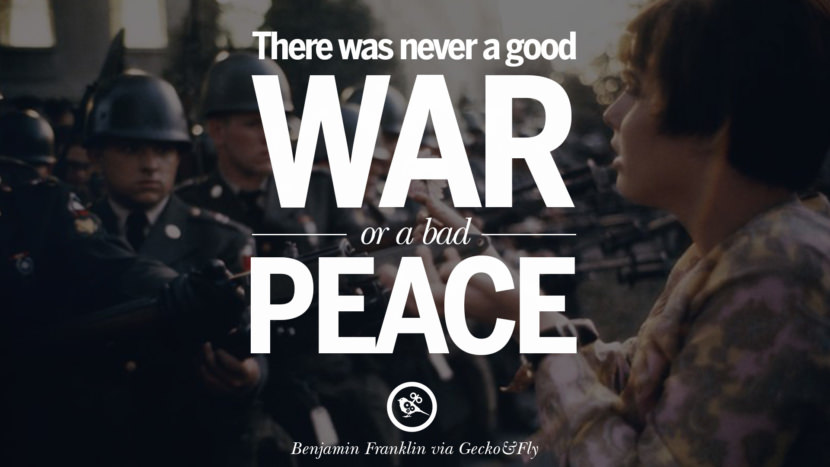12 famous quotes about war on world peace  death  violence