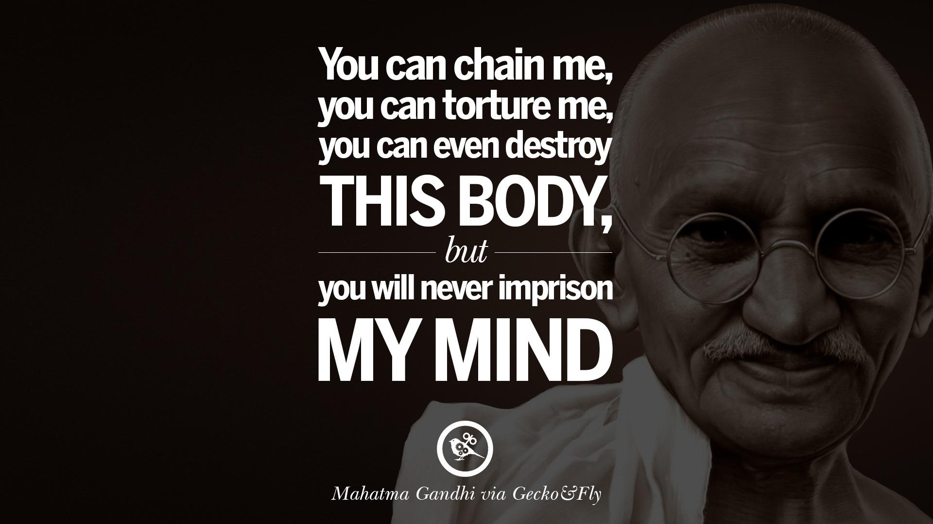mind of mahatma gandhi pdf