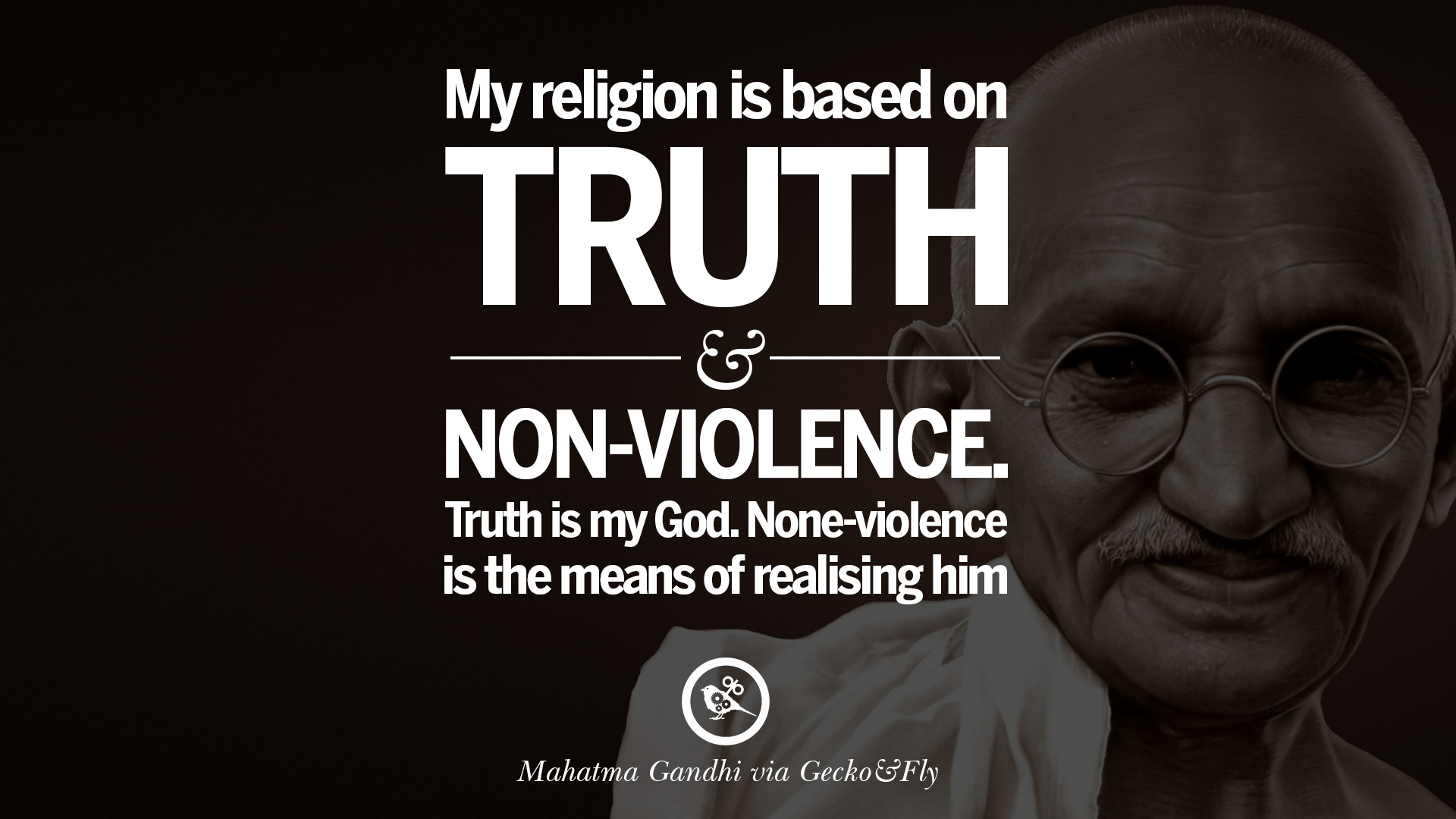 Mahatma Gandhi Quotes And Frases On Peace Protest And Civil - Gandhi religion