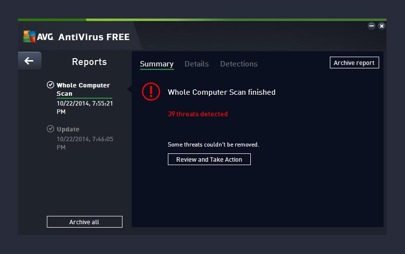 free avg virus remover