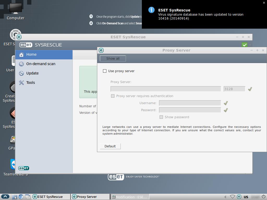 antivirus boot disk