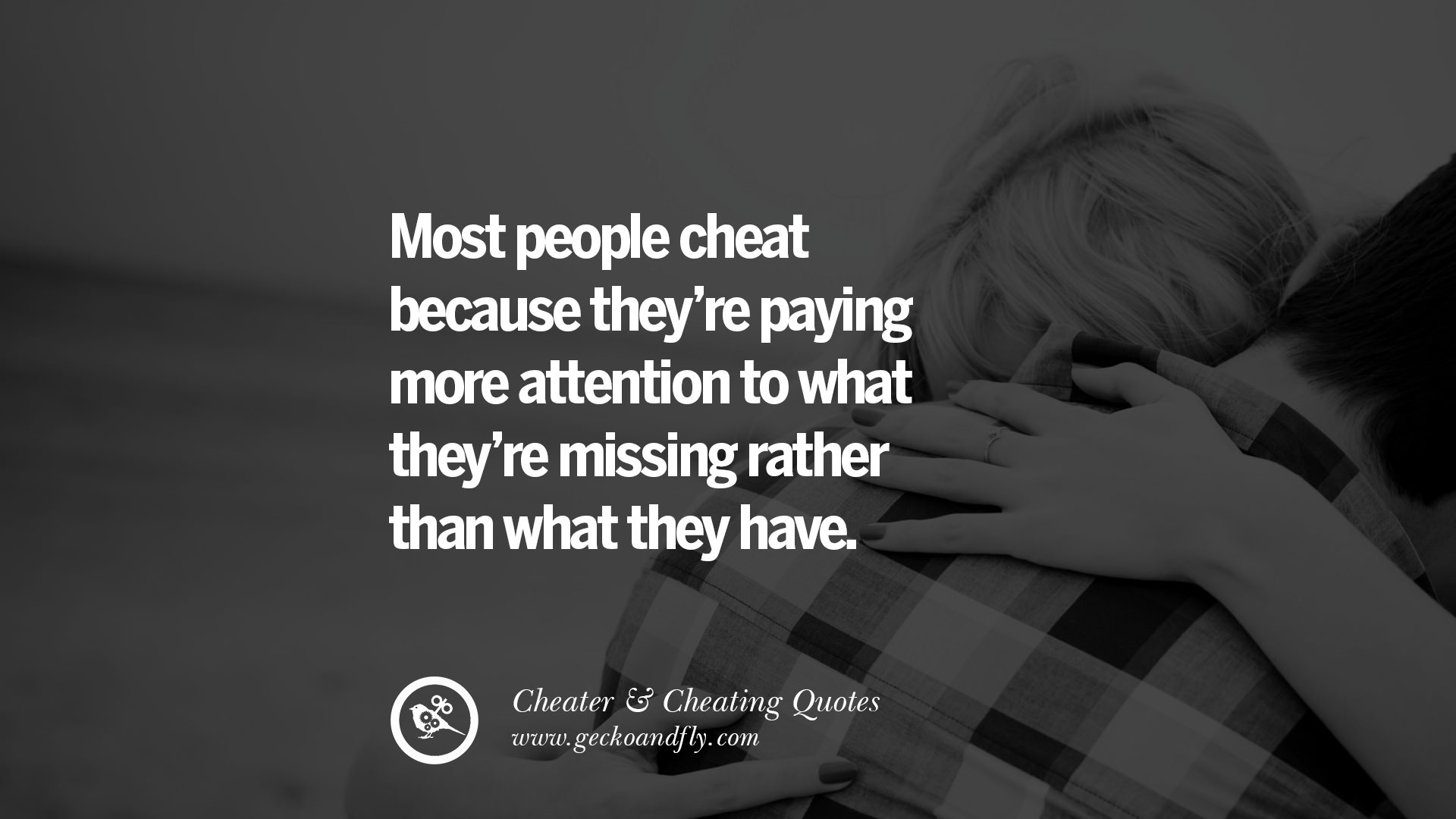 Why Cheat On someone You Love Quotes | Thousands of ...