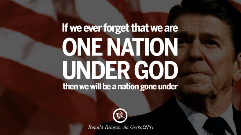 If we ever forget that we are one nation under God then we will be a nation gone under. best president ronald reagan quotes tumblr instagram pinterest inspiring library airport uss school