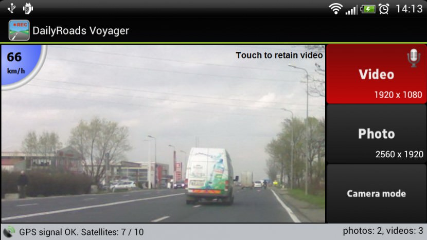dailyroad voyager dash cam smartphone