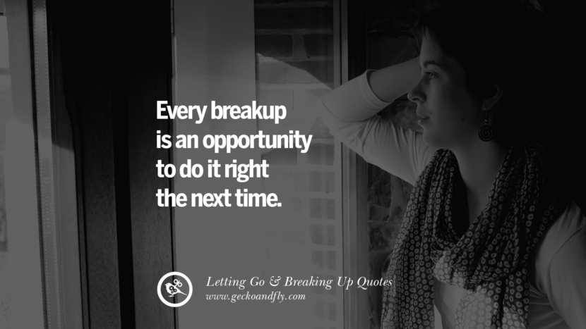 Every breakup is an opportunity to do it right the next time. - Cindy Chupack Quotes About Moving Forward From A Bad Relationship facebook instagram twitter tumblr pinterest best