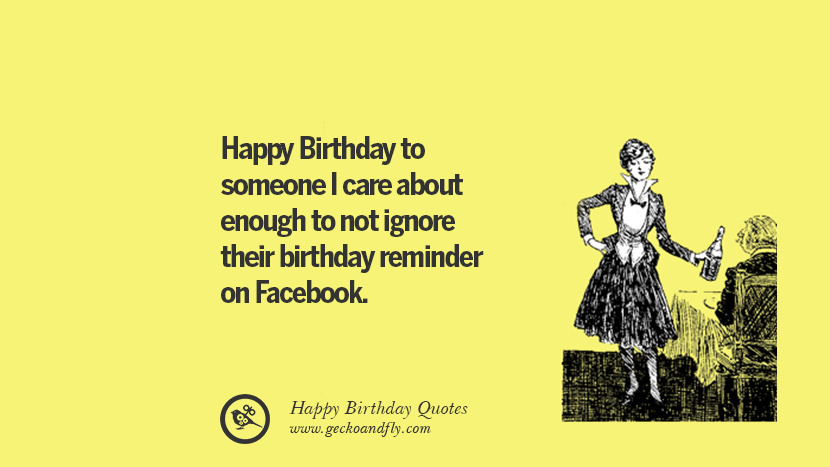 33 Funny Happy Birthday Quotes And Wishes For Facebook
