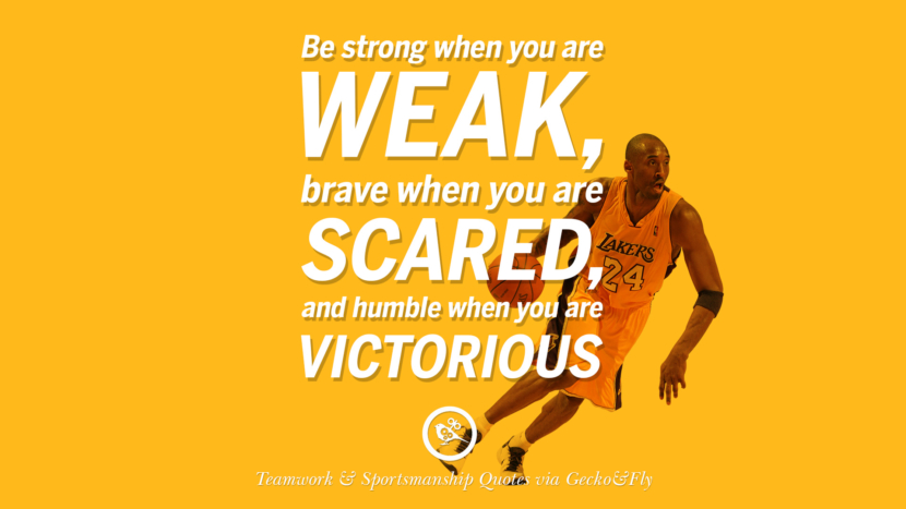 Be Strong When You Are Weak Brave Scared And Humble