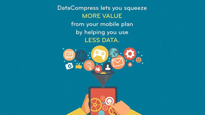 data compression browser