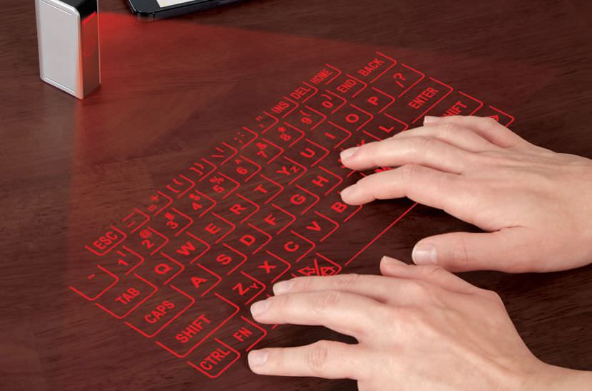virtual hologram projector keyboard keylogger