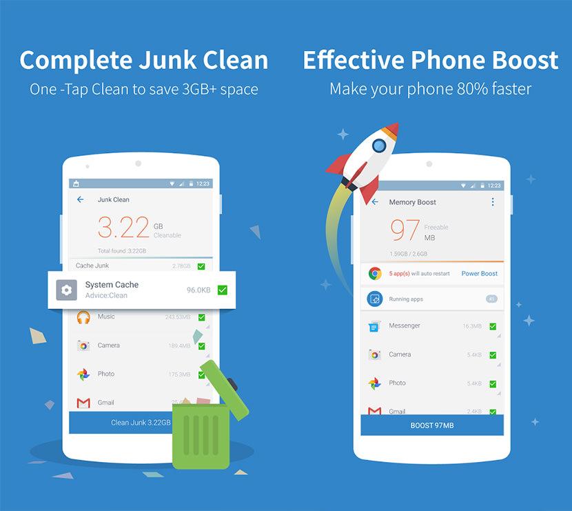 power cleaner android Free Apps To Clean Up Android And Free Up Storage Space