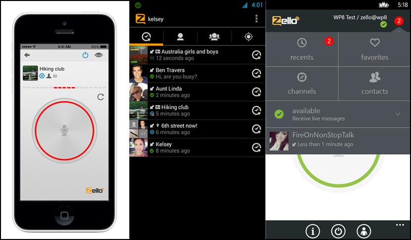 zello walkie talkie app Walkie Talkie Apps For Smartphones Via 3G and Wireless Wi-Fi