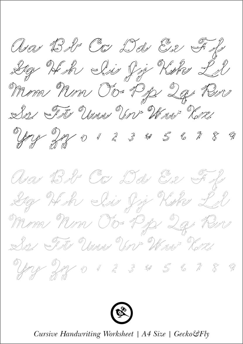 Prettiest handwriting