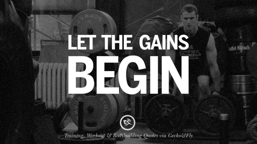 Let the gains begin.